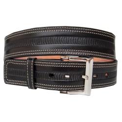 Cinturón Dilop Cosido Grabado 40 mm